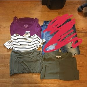 Size small AEO bundle